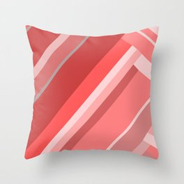 Red hills Throw Pillow