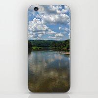 river song iPhone & iPod Skins featuring Song of the Delaware River by PamelasDreams