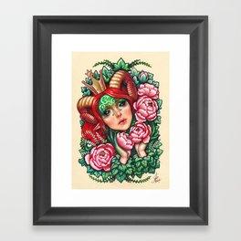 Titania Stigmata Framed Art Print