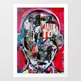 """hope is not just a slogan"" Art Print"