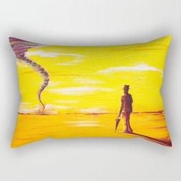Sir Tornado - Sir Security Rectangular Pillow