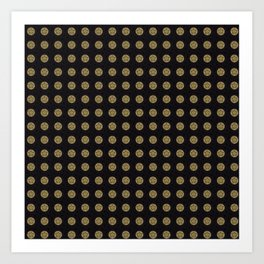 gold 4 Art Print