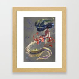 Unagi Sashimi Framed Art Print