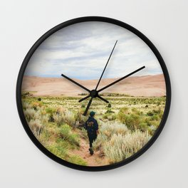 Great Sand Dunes National Park - Colorado Wall Clock