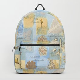 Botanical Sketch book Backpack