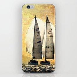 two sailboat iPhone Skin