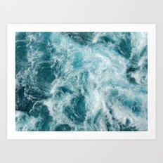 Bali Waves Art Print