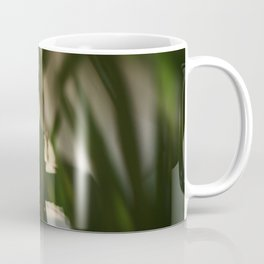 Dancing people, dance, shadows, hands and plants, blurred photography, dancer, forest, yoga Coffee Mug