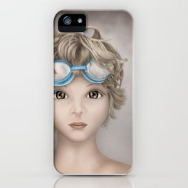 Time for a Swim iPhone Case