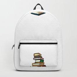 Book lover, book nerd, english teacher  - get lit! Backpack
