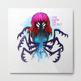 Insect girl Metal Print