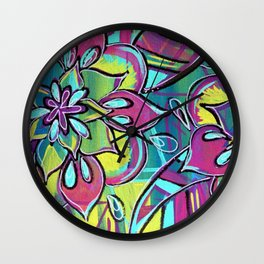 Sing A New Song Wall Clock