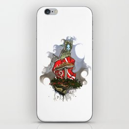 Recycled fairytale iPhone Skin