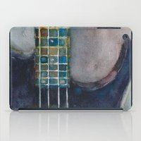bass iPad Cases featuring Ed's Bass by Dorrie Rifkin Watercolors