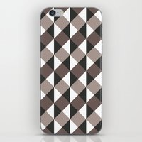 gray pattern iPhone & iPod Skins featuring Pattern Gray by Sonia Marazia