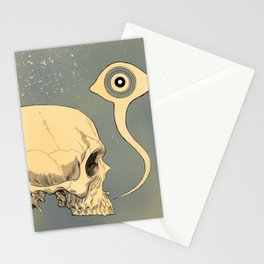 Untitled (skull) Stationery Cards