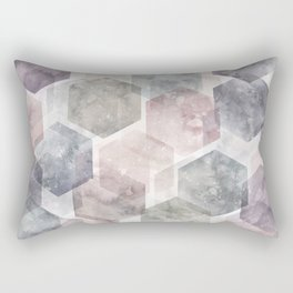 Hexagon Dreams Rectangular Pillow