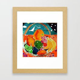 Fruit Bounty Australia           by Kay Lipton Framed Art Print