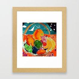 Fruit Bounty Australia           by Kay Lipton Framed Art Print