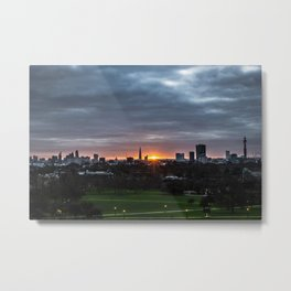 Good morning, London Metal Print