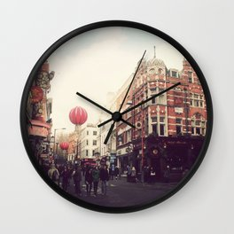 Chinatown , London. Wall Clock