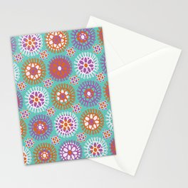 Bright Flower Doodles Stationery Cards
