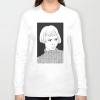 chic Long Sleeve T-shirts featuring Chic Lady by Cannibal Malabar