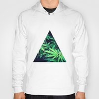 weed Hoodies featuring Smoke Weed by Lyre Aloise