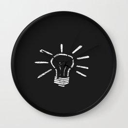 Lightbulb Moment Wall Clock