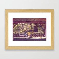 Play & Rest Framed Art Print