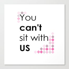 ITS PINK DAY Canvas Print