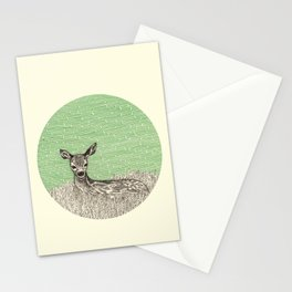 A deer Stationery Cards
