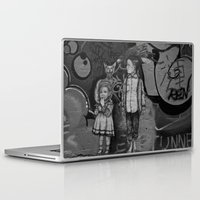 guardians Laptop & iPad Skins featuring Guardians by Taylor.Mac