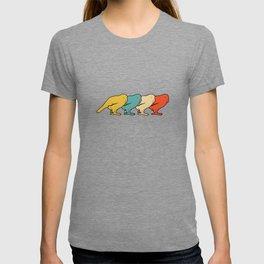 Vintage Retro Pop Art Kakapo Bird Gift Idea T-shirt