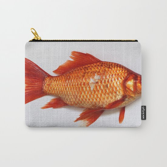 Red Gold Fish Carry-All Pouch