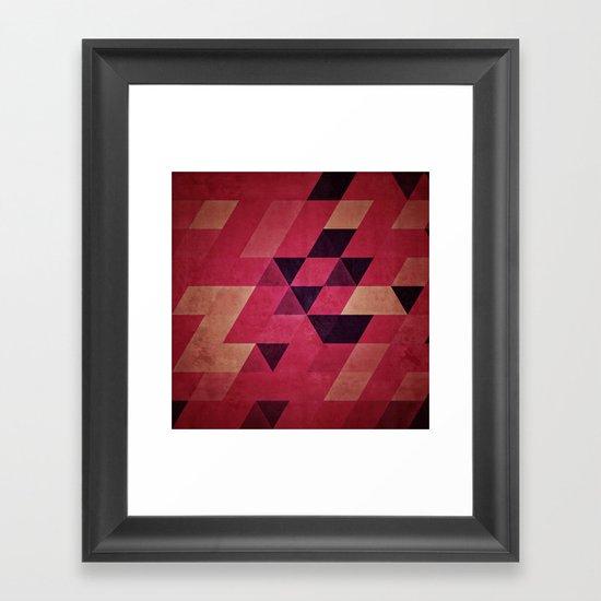 amyrynthya Framed Art Print