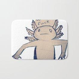 WTF Axolotl Bath Mat