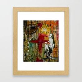 Detached Framed Art Print