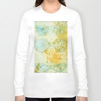 sunglasses Long Sleeve T-shirts featuring Sunglasses by Leah Gonzales