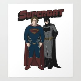 SUPERBAT Art Print
