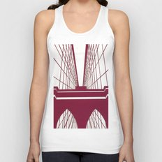 Brooklyn Bridge Unisex Tank Top