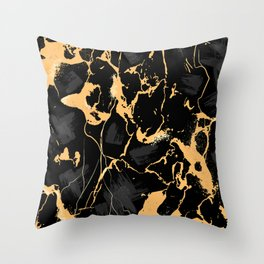 Marble Texture Surface 48 Throw Pillow