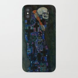 "Gustav Klimt ""Death and Life"" iPhone Case"