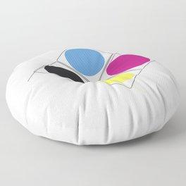 CMJN rounds Floor Pillow