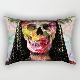Cleopatra De Los Muertos Rectangular Pillow