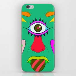 Cyclops love iPhone Skin
