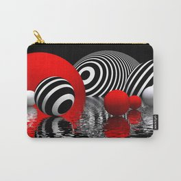 stripes and reflections Carry-All Pouch