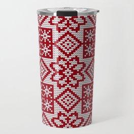 Pattern in Grandma Style #30 Travel Mug