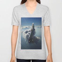 Sea of Light Unisex V-Neck