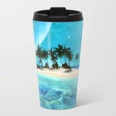 Wonderful tropical island Travel Mug